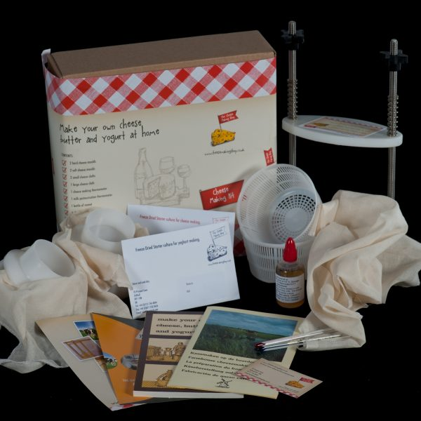 Hard and Soft Cheese Making Kit EXTRA and PRESS