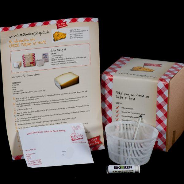 Soft Cheese Making Kit