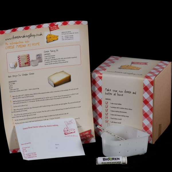 Valentine Soft Cheese Making Kit