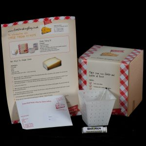 Soft Cheese Making Kit with pyramid mould