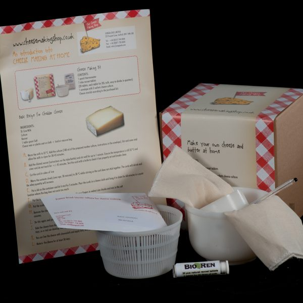 Hard and Soft Cheese Making Kit