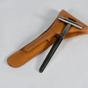 Cheese Trier (12 cm) and Leather Pouch