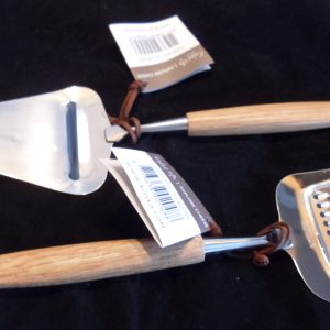Dutch Cheese Grater and Slicer, oak wood
