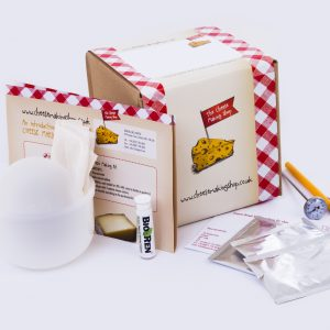 Hard cheese making kit