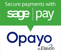 Checkout securely with Opayo